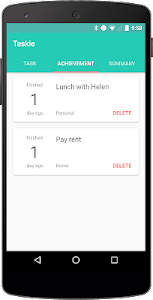 Taskie: Simple To-Do List screenshot 1