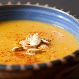 Thai-spiced Pumpkin Soup.
