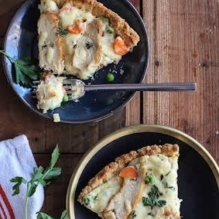 Chicken Pot Pie Pizza.