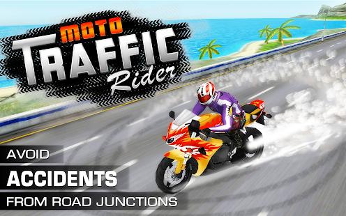 Moto Traffic Rider 3D - náhled