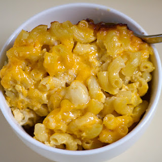 Three-Cheese Baked Macaroni & Cheese Recipe