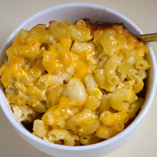 Three Cheese Baked Macaroni Cheese Recipes.