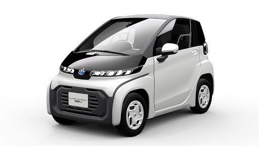 Toyota's Ultra Compact BEV two-seater