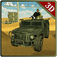 Army Truck Border Patrol