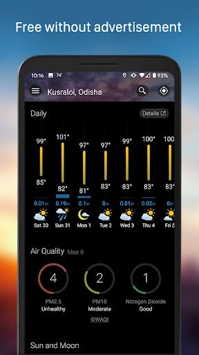 Weather & Widget - Weawow 4.4.2 screenshots 4