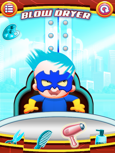 Baby Super Hero Hair Salon Kid