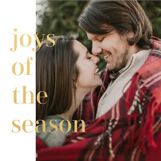 Joys of the Season - Christmas Template
