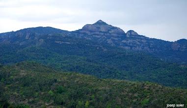Photo: El Montcau des del Coll de Lligabosses