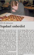 Photo: DCIJ-nieuws. Topduel onbeslist. 7 april 2011