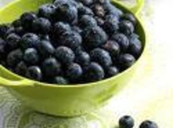 Crusty Top Blueberry Pie - Dee Dee's Recipe