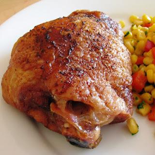 Slow-Roasted Turkey Thighs.