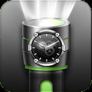 Flashlight Torch with Clock