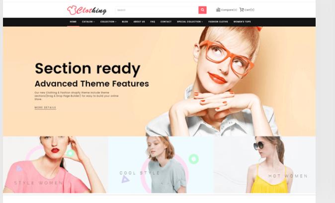 Clothing - Shopify clothing themes