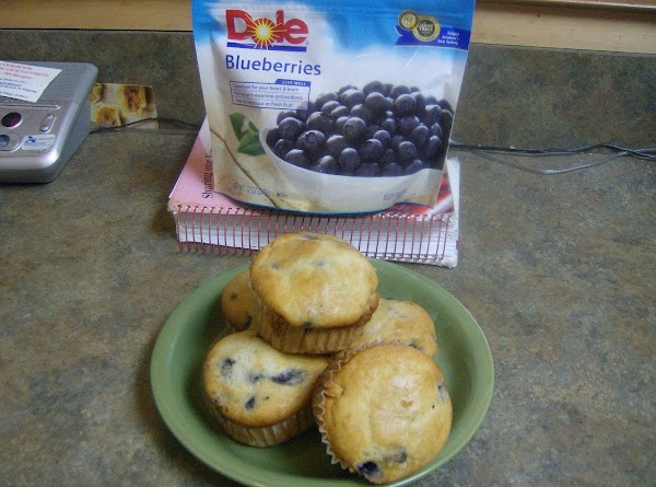 Rose Mary's Fresh Blueberry Muffins Recipe