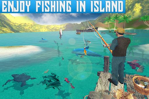 Boat Fishing Simulator: Salmon Wild Fish Hunting apkpoly screenshots 4