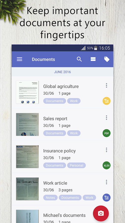 FineScanner Pro - PDF Document Scanner App + OCR- screenshot