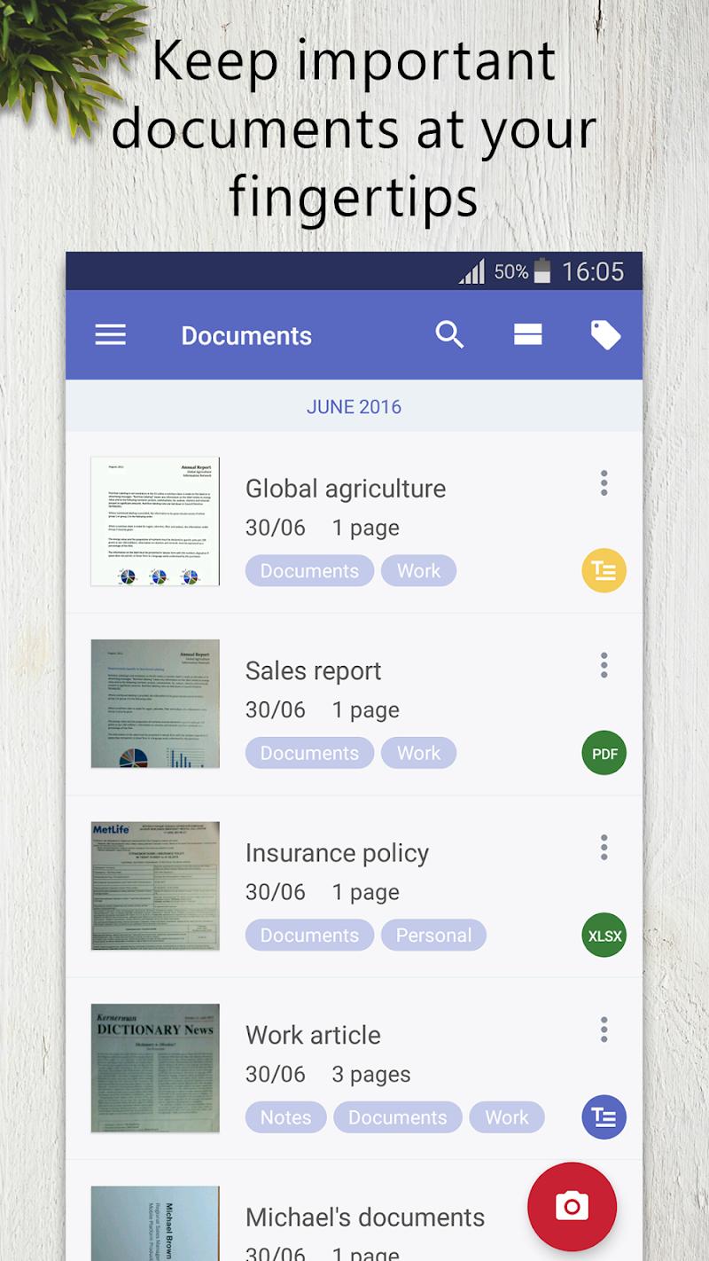 FineScanner Pro - PDF Document Scanner App + OCR Screenshot 2