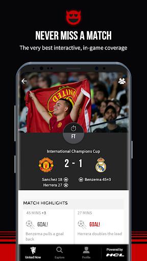 Manchester United Official App 6.2.4 screenshots 3