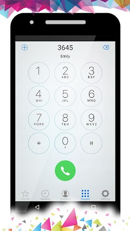 OS9 Phone Dialer Screenshot