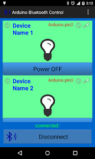 Arduino Bluetooth Control- screenshot thumbnail