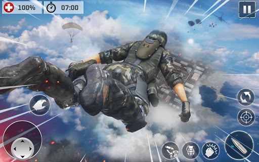 Code Triche Contract Cover Shooter 2020 - Pro Cover Fire Game APK MOD screenshots 1