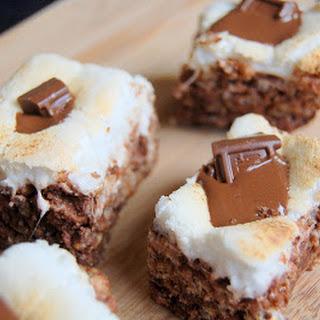 S'Mores Rice Krispie Treats – The Secret Recipe Club