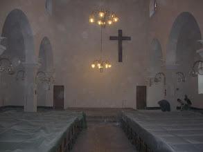 Photo: Počeli radovi na uređenju prezbiterija župne Crkve u Podhumu.