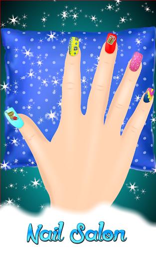 ألعاب تلبيس وأظافر - لقطات شاشة على غرار عيد الميلاد 2