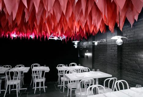Дизайн интерьера ресторана от студии The Metrics