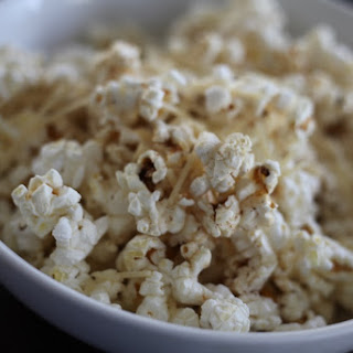 Brown Butter Parmesan Popcorn.