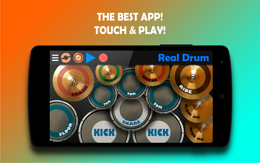 Real Drum - The Best Drum Pads Simulator 7.25 Screenshots 6