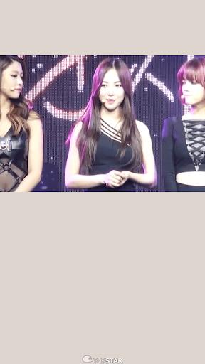 AOA Mina ライブ•壁紙 3