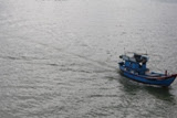 Photo: Boat going to sea  fhishing squids, the biggest catch of Nha Trang