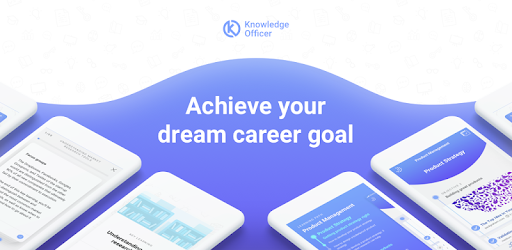 Knowledge Officer gives you personalized learning paths for your career goals.