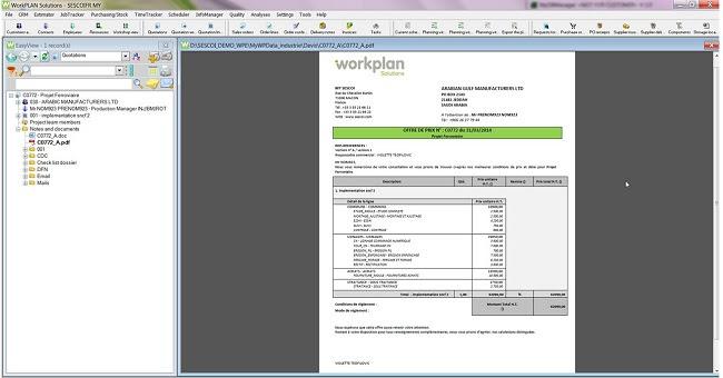 Подготовка расценок Workplan