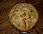 Pear and Grape pie