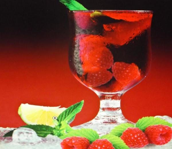 Peppermint Raspberry Ice Recipe