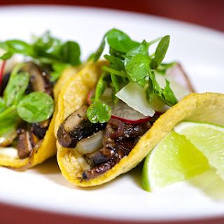 Grilled Portobello Mushroom Tacos.