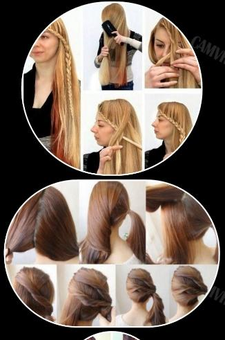 Easy Hairstyles Step By Screenshot