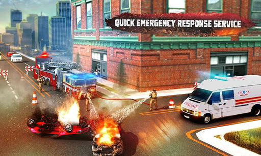 ? Rescue Fire Truck Simulator: 911 City Rescue 1.3 screenshots 2