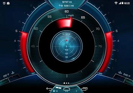 Digital Speedometer 4K LWP - náhled