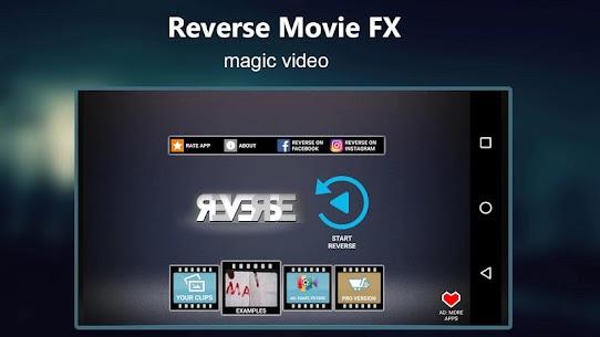 Reverse Movie FX – magic video 4