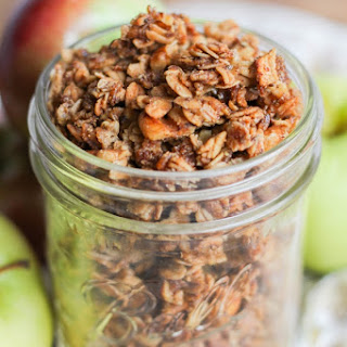 Apple Pie Granola Clusters
