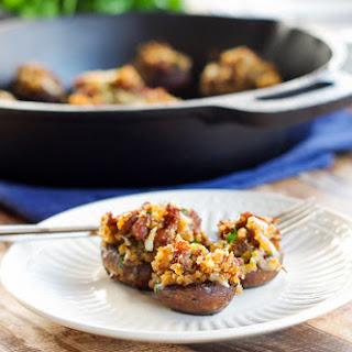 Chorizo & Manchego Stuffed Mushrooms