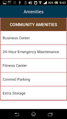 android Mountain Ranch Apartments Screenshot 11