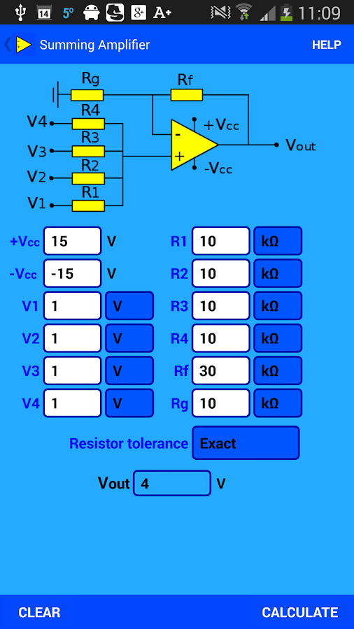 Opamp Inverting Amplifier Edit
