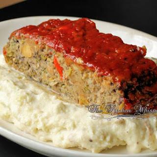 Ultimate Mushroom Veggie Meatloaf