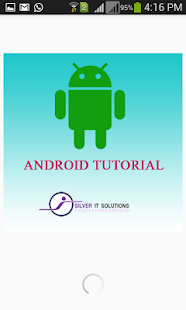 SilverItSolutions:Tutorial for Android Offline - náhled