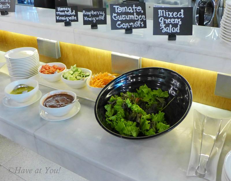 salad station at kitchen 1b