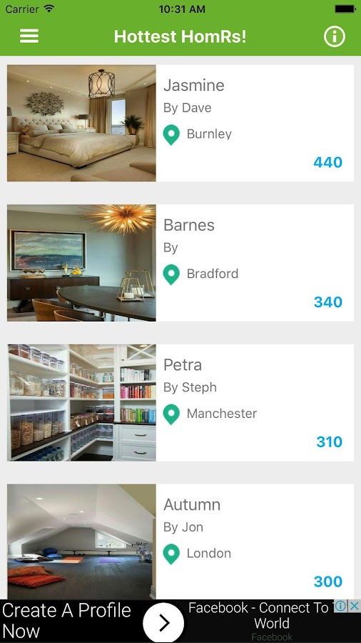 HomR - new way to find great ideas for your home- screenshot